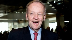 Former prime minister Jean Chretien smiles as he arrives at a conference in Montreal, Thursday, April 14, 2011. (Graham Hughes / The CANADIAN PRESS)