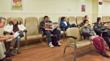 Waiting room in Sunnybrook Hospital, Toronto. - Waiting room in Sunnybrook Hospital, Toronto. | For The Globe and Mail