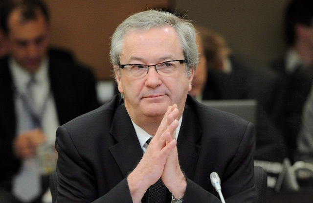 Chief Electoral Officer Marc Mayrand is shown in Ottawa on March 29, 2012. The chief electoral officer says tougher rules need to be in place by next year to prevent false or misleading telephone calls in the next federal election. THE CANADIAN PRESS/Sean Kilpatrick