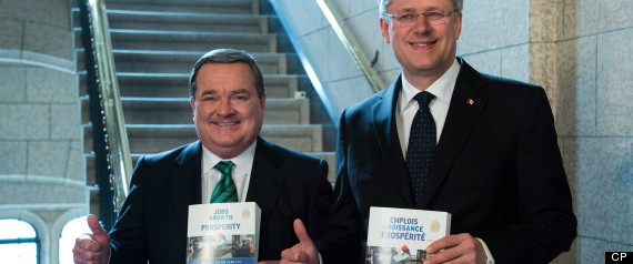 Jim Flaherty Stephen Harper